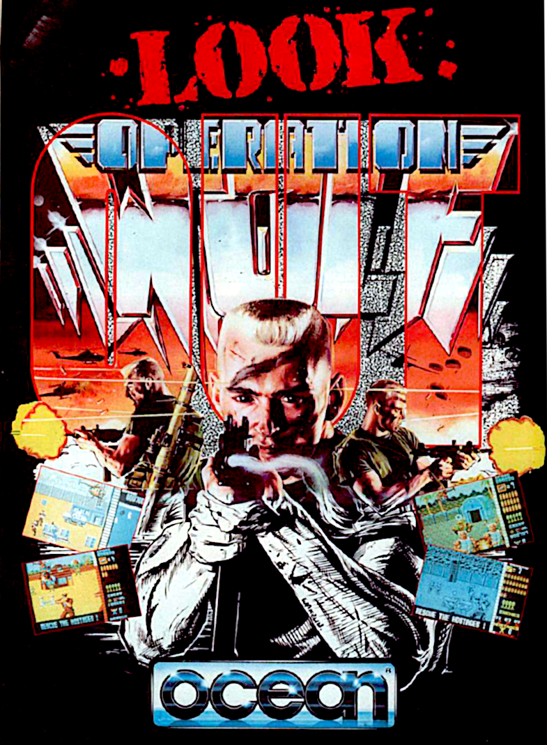"""Image For Post   **Description**   Operation Wolf is an arcade game by Taito. It is essentially a bitmapped """"rail-shooter"""", where you basically hold the gun and shoot just about everything that moves, while conserving your ammo and grenades.   **Home versions**   Most of [the home conversions] lacked any kind of light gun support (with the exceptions of the NES, Master System, and the ZX Spectrum, which featured Magnum Light Phaser support) and must be played with a keyboard or a controller.  **Sound**   If the Tandy/PCjr or CMS/GameBlaster sound modes are being used, then in game sound effects are played through the internal speaker and music is played through the sound hardware. In Adlib mode both music and sound effects are played through the sound board.   [Versions released in 1990]: FM Towns/Sega Master System/TurboGrafx-16 (PC Engine)  **Alternate Titles**       """"Operation Wolf: Take No Prisoners"""" -- Tag-lined title     """"オペレーション・ウルフ"""" -- Japanese spelling"""
