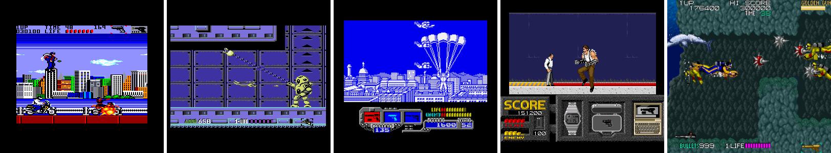 Amstrad - C64 - Spectrum - Amiga - Arcade