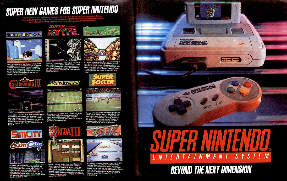 """The Super Nintendo Entertainment System (SNES), also known as the Super NES or Super Nintendo, is a 16-bit home video game console developed by Nintendo that was released in 1990 in Japan and South Korea, 1991 in North America, 1992 in Europe and Australasia (Oceania), and 1993 in South America. In Japan, the system is called the Super Famicom (SFC). In South Korea, it is known as the Super Comboy and was distributed by Hyundai Electronics. The system was released in Brazil on August 30, 1993, by Playtronic. Although each version is essentially the same, several forms of regional lockout prevent the different versions from being compatible with one another.  History  To compete with the popular Family Computer in Japan, NEC Home Electronics launched the PC Engine in 1987, and Sega followed suit with the Mega Drive in 1988. The two platforms were later launched in North America in 1989 as the TurboGrafx-16 and the Sega Genesis, respectively. Both systems were built on 16-bit architectures and offered improved graphics and sound over the 8-bit NES. However, it took several years for Sega's system to become successful. Nintendo executives were in no rush to design a new system, but they reconsidered when they began to see their dominance in the market slipping.  Console wars  The rivalry between Nintendo and Sega resulted in what has been described as one of the most notable console wars in video game history, in which Sega positioned the Genesis as the """"cool"""" console, with games aimed at older audiences, and aggressive advertisements that occasionally attacked the competition. Nintendo however, scored an early public relations advantage by securing the first console conversion of Capcom's arcade classic Street Fighter II for SNES, which took more than a year to make the transition to the Genesis. Though the Genesis had a two year lead to launch time, a much larger library of games, and a lower price point, it only represented an estimated 60% of the American 16-bit co"""