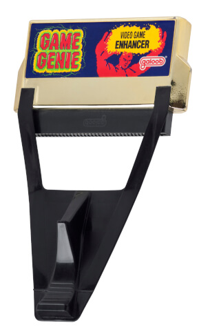 Image For Post | [NES Game Genie]   The Game Genie attaches to the end of the NES cartridge, causing the cartridge to protrude from the console when fully inserted, making the depression impossible. Therefore, the Game Genie was designed in such a way that it did not need to be depressed in order to start the game. This design put even more stress on the LIF socket than standard game insertion, bending pins and eventually causing units to be unplayable without the Game Genie present. The design of the Game Genie also made it very difficult to insert into a newer top-loading NES without pressing very hard. An adapter was created to deal with the problem, which Galoob offered to Game Genie owners free of charge,[6] but few were requested, and the stock was liquidated.  There also exists a version of the Game Genie for the Family Computer, distributed by Realtec and sold in areas where Famiclones were common.