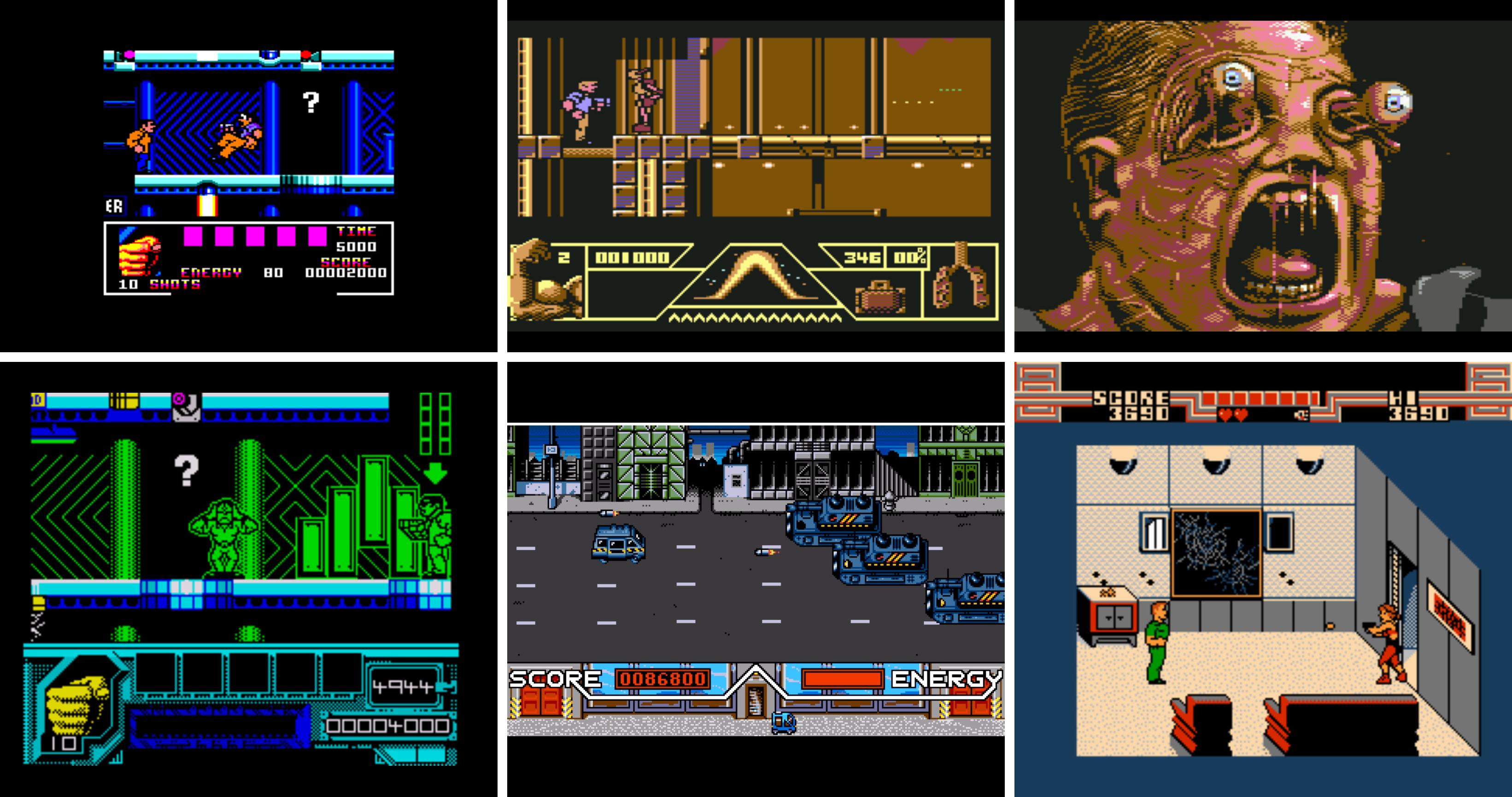 Amstrad - C64 x2 Spectrum - Amiga - NES