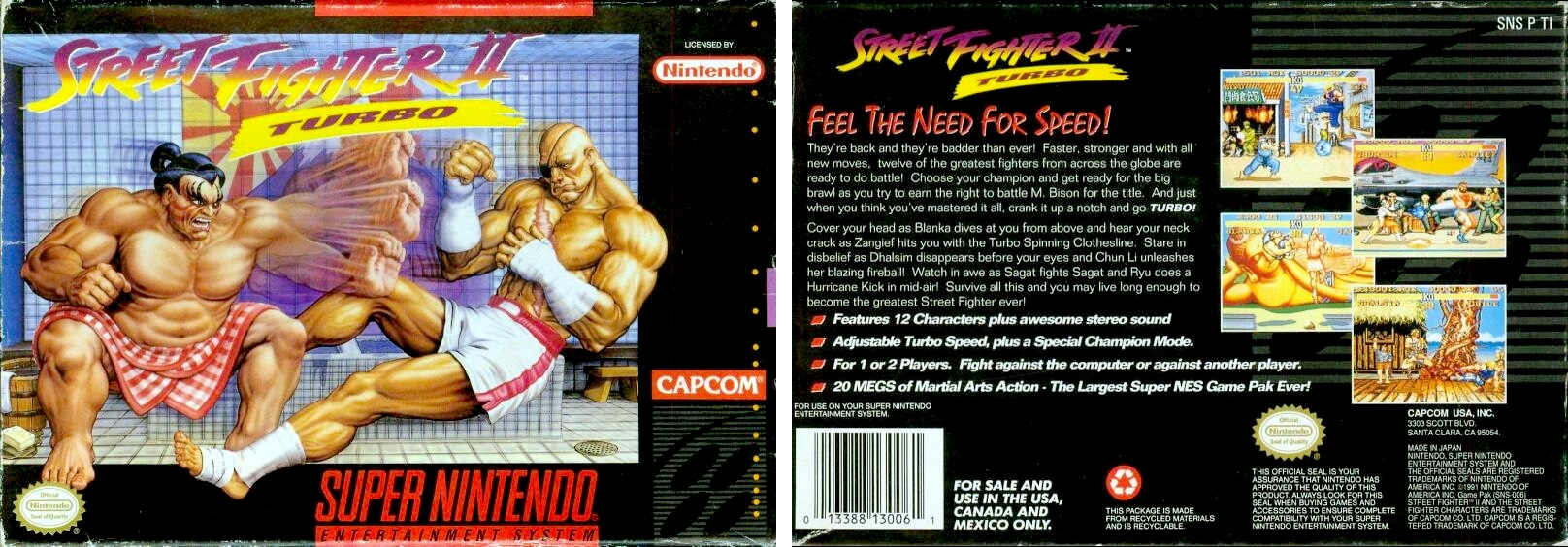 """Image For Post   **Re-released**   Nintendo re-released Hyper Fighting in September 2017 as part of the company's Super NES Classic Edition.  **Other releases**   The Sega Genesis version, Street Fighter 2: Special Champion Edition, while based primarily on Champion Edition, allows players to play the game with Hyper Fighting rules as well. The game's content is almost identical to the SNES version of Street Fighter II Turbo.  Hyper Fighting is included in Street Fighter Collection 2 (Capcom Generation 5) for the Sega Saturn and PlayStation. The PlayStation port was later included in Capcom Classics Collection Vol. 1 for PlayStation 2 and Xbox, as well as Capcom Classics Collection: Reloaded for the PlayStation Portable. A stand-alone re-release of Hyper Fighting was also released for the Xbox 360 via Xbox Live Arcade which features an online versus mode. It was also released for the iPod Touch, iPhone, iPad, and Android, along with Street Fighter II and Champion Edition, as part of Capcom Arcade.   The title was also later released for the Nintendo 3DS, Wii, Wii U and Switch systems.  **Alternate Titles**       """"Street Fighter II Turbo: Hyper Fighting"""" -- In-game title     """"ストリートファイターII ターボハイパーファイティング"""" -- Japanese spelling"""