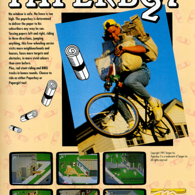 Image For Post Paperboy 2 - Video Game From The Early 90's