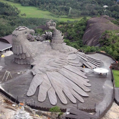 Image For Post The worlds largest bird sculpture at the Jatayu Earth Centre