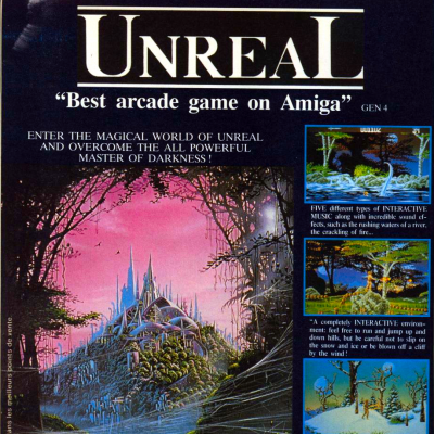 Unreal - Video Game From The Early 90's