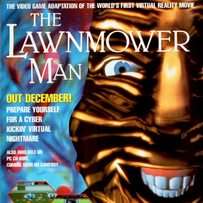 The Lawnmower Man - Video Game From The Early 90's