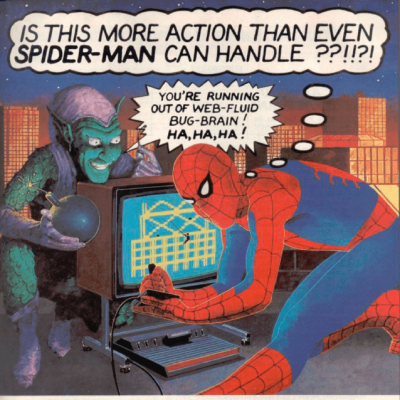 Image For Post Spider-Man - Video Game From The 80's