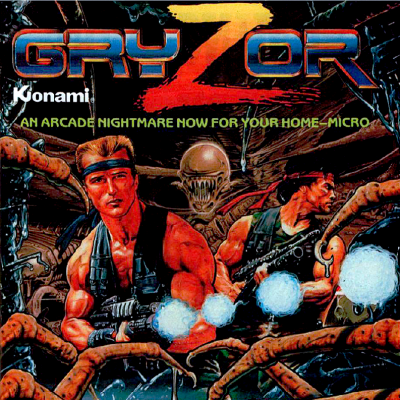 Image For Post Gryzor (Contra) - Video Game From The Late 80's