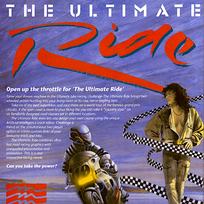 The Ultimate Ride - Video Game From The Early 90's