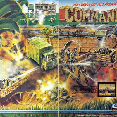 Image For Post Commando - Video Game From The Mid 80's