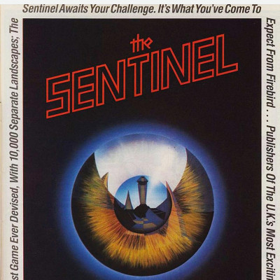 Image For Post The Sentinel - Video Game From The Mid 80's