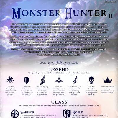 Image For Post Monster Hunter CYOA v2.0