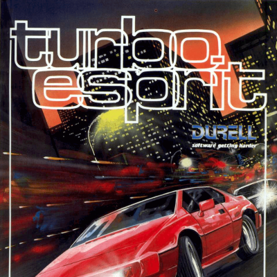 Turbo Esprit - Video Game From The Mid 80's