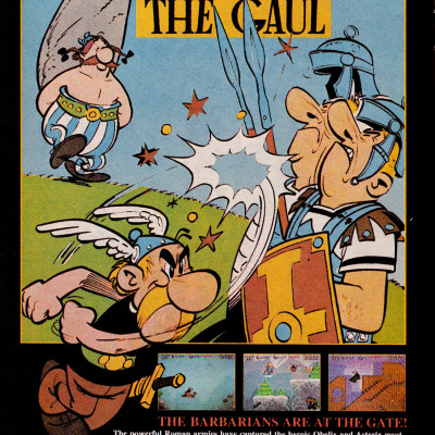 Image For Post Asterix - Video Game From The Early 90's
