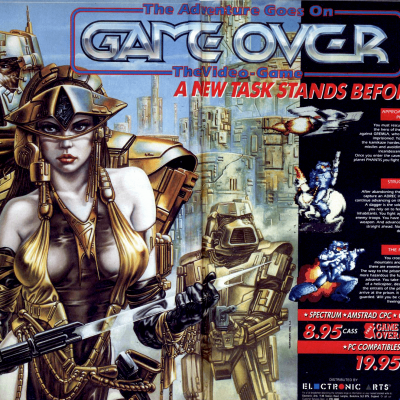 Image For Post Game Over 2 (aka Phantis) - Video Game From The Late 80's