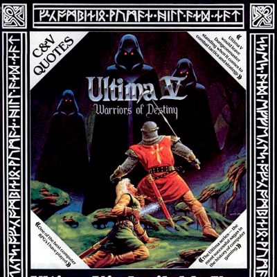 Image For Post Ultima V: Warriors of Destiny - Video Game From The Late 80's