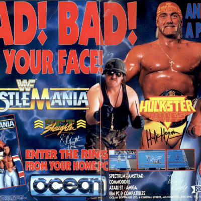 WWF Wrestlemania - Video Game From The Early 90's