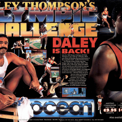 Image For Post Daley Thompson's Olympic Challenge - Video Game From The Late 80's