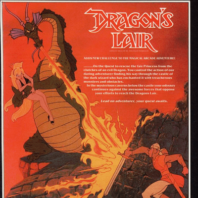 Image For Post Dragon's Lair - Video Game From The Mid 80's