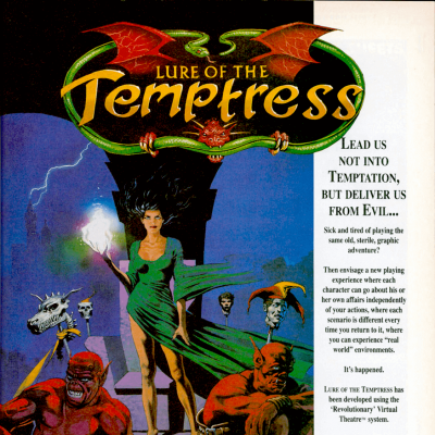 Lure Of The Temptress - Video Game From The Early 90's