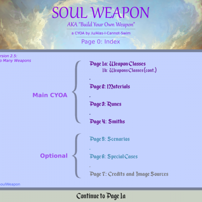 Image For Post Soul Weapon CYOA v2.5