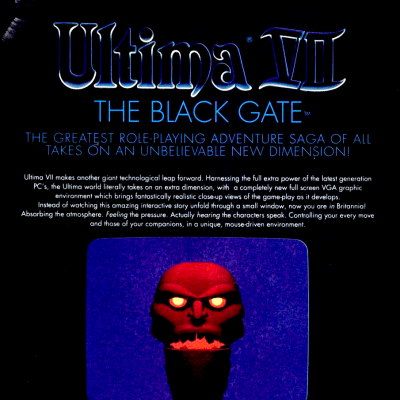 Image For Post Ultima 7: The Black Gate - Video Game From The Early 90's
