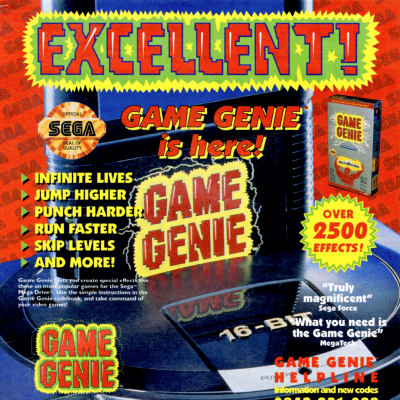 Image For Post Game Genie - Video Game Accessory From The Early 90's