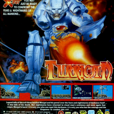 Image For Post Turrican - Video Game From The Early 90's
