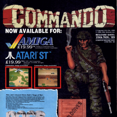 Image For Post Commando - Video Game For 8 and 16-Bit Systems