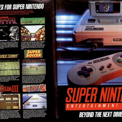 Image For Post Super Nintendo Entertainment System - Video Game System From The Early 90's