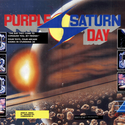 Image For Post Purple Saturn Day - Video Game From The Late 80's