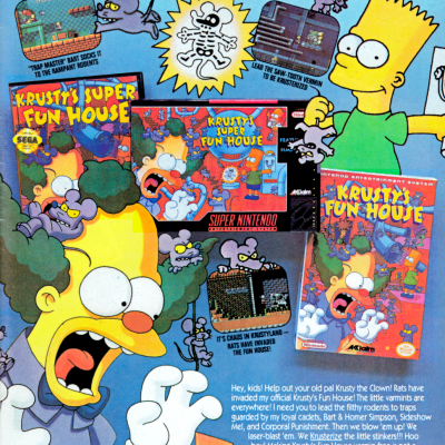 Image For Post Krusty's Super Fun House - Video Game From The Early 90's