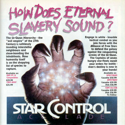Image For Post Star Control - Video Game From The Early 90's