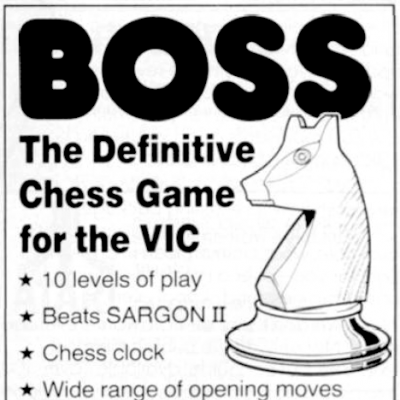 Image For Post Boss Chess - Video Game From The Early 80's