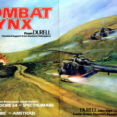 Image For Post Combat Lynx - Video Game From The Early 80's