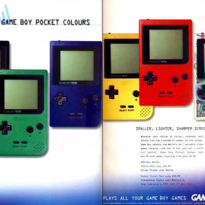 Gameboy Pocket - Video Game Console From The Mid 90's