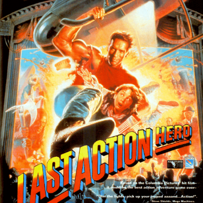 Last Action Hero - Video Game From The Early 90's