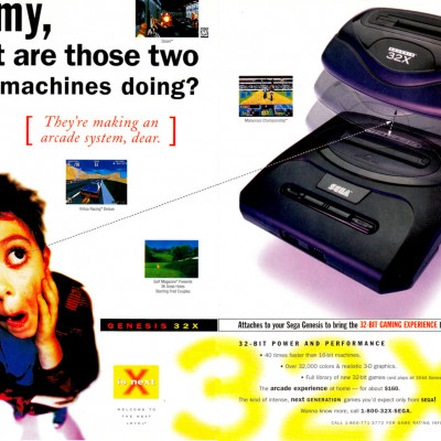 Image For Post Sega 32x - Video Game Console From The Early 90's