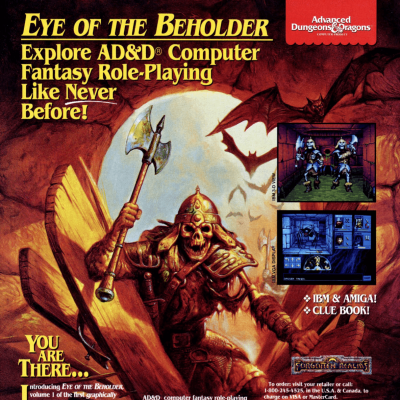 Image For Post Eye of the Beholder - Video Game From The Early 90's