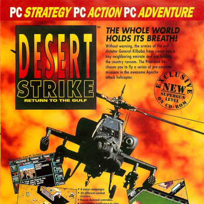 Image For Post Desert Strike - Video Game From The Early 90's