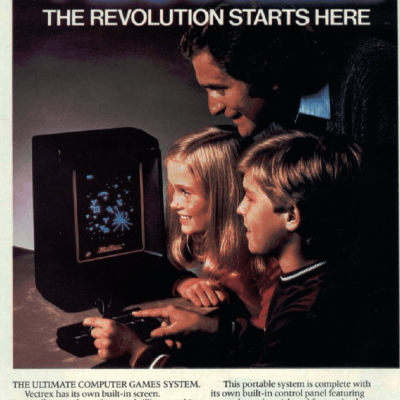 Vectrex - Video Game System From The 80's