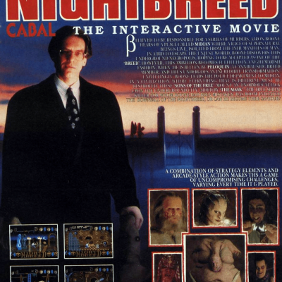 Clive Barker's Nightbreed: The Interactive Movie - Video Game From The Early 90's