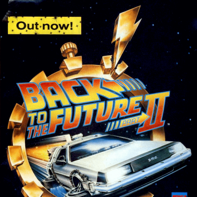 Image For Post Back To The Future Part 2 - Video Game From The Early 90's