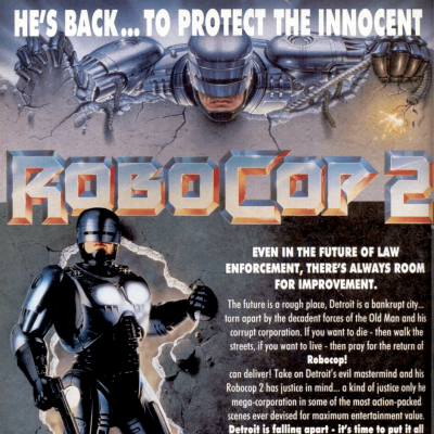 RoboCop 2 - Video Game From The Early 90's
