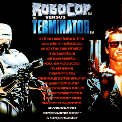 Image For Post RoboCop versus The Terminator - Video Game From The Early 90's