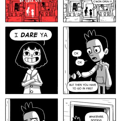 Beginning of spooky season - Dare House