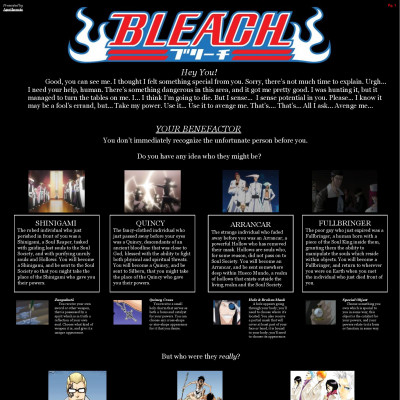 Bleach CYOA by Apotheosis