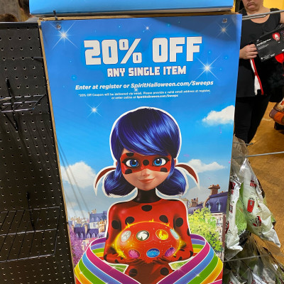 Image For Post Miraculous Ladybug contest at Spirit Halloween