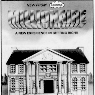 Image For Post Millionaire - Video Game From The Early 80's