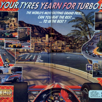 Super Monaco GP - Video Game From The Early 90's